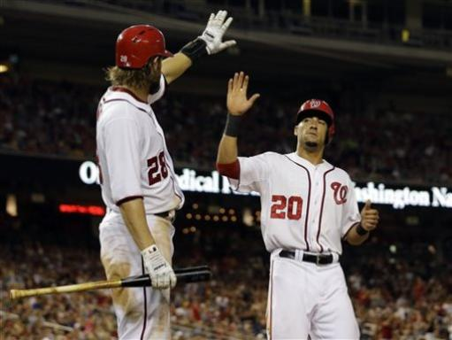 Nationals defeat Padres 8-5