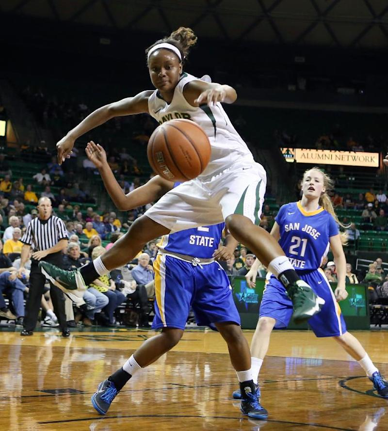 Sims leads No. 9 Baylor women to 113-73 win