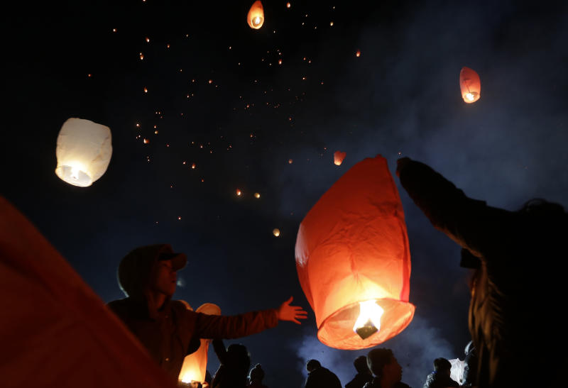 UK officials ask public to avoid paper lanterns