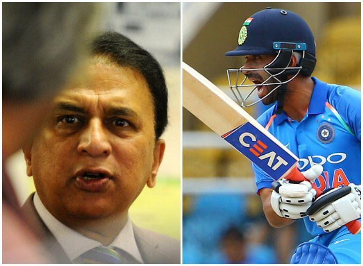 Gavaskar slams selectors on Ajinkya Rahane's omission from squad for Australia T20s