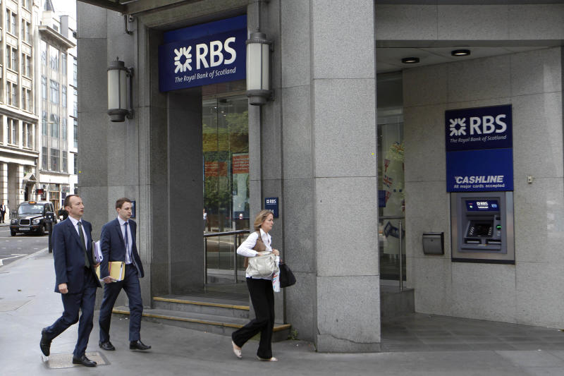 Fines levied against RBS in rate-fixing scandal