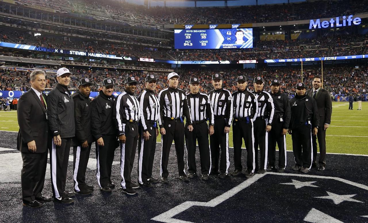 """nfl referees assignments History of the officials officiating has changed since the nfl's infancy, but officials' primary objectives — consistency and excellence — remain the same read about the """"custodians of the game"""" and the visionaries behind major advancements in the art (and science) of officiating."""