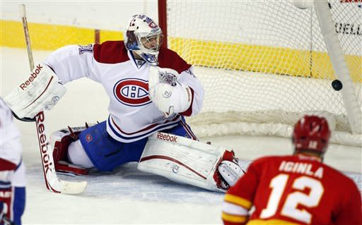 Flames edge Canadiens 5-4