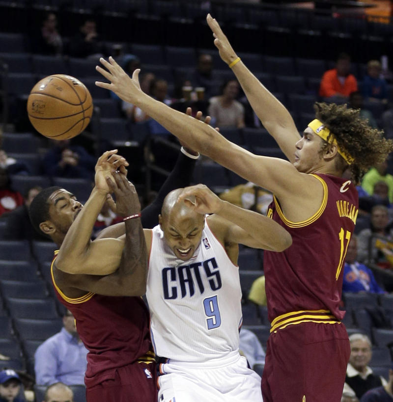 Taylor lifts Bobcats over Cavaliers, 105-92