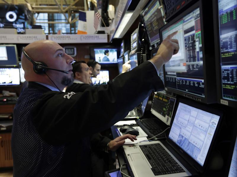 Stocks gain for sixth day on strong jobs growth