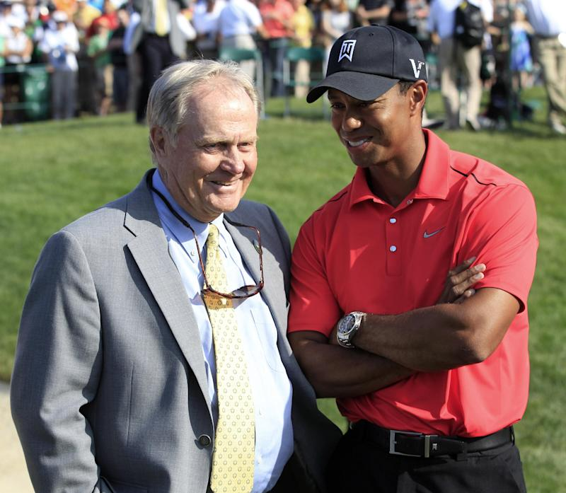 Age, not courses, makes this a big year for Woods