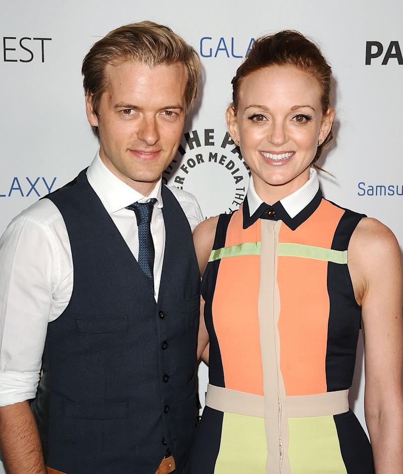'Glee' Star Jayma Mays Welcomes First Child With Husband Adam Campbell