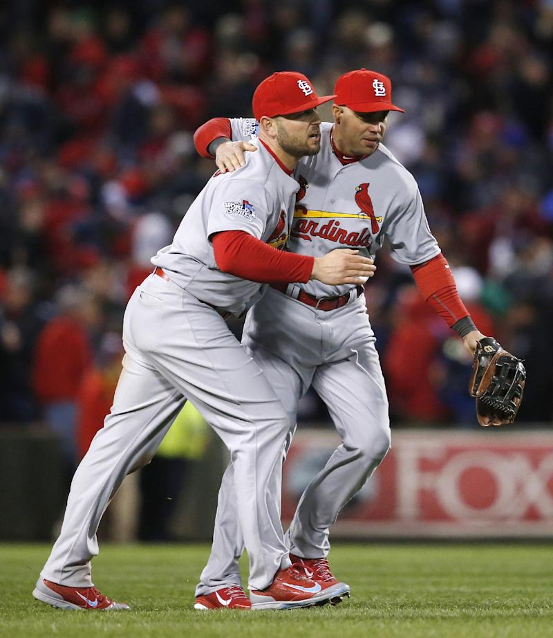 Wacha, Cards top Red Sox 4-2 to tie World Series