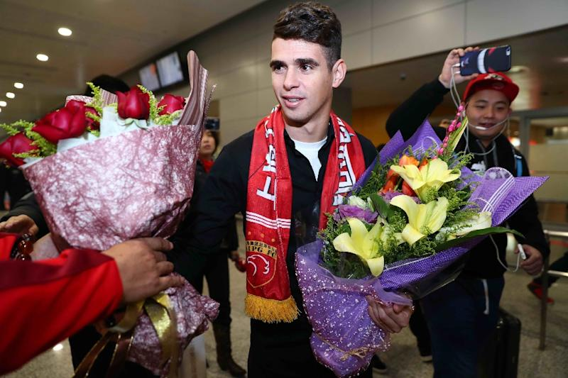 Oscar explains why he left Chelsea for China