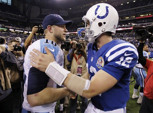 Luck leads another Colts rally, beat Titans 27-23