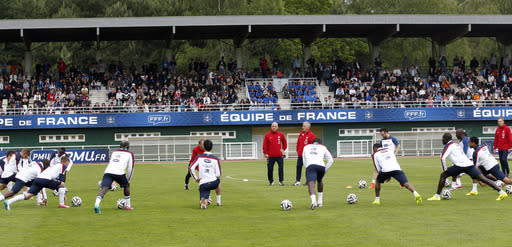 France slim favorite to win Group E ahead of Swiss