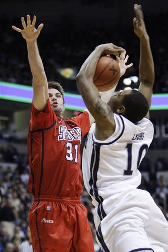 Frease leads Xavier over Richmond 65-57