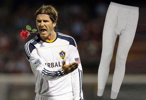 David Beckham's Long Johns