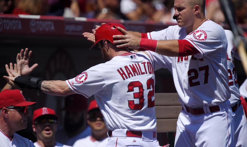 Angels trounce A's 8-1 to complete 4-game sweep