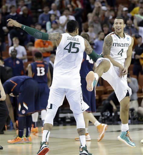 Miami moves to Sweet 16 with 63-59 win over Illini