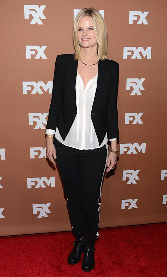 Joelle Carter attends the 2013 FX Upfront Bowling Event at Luxe at Lucky Strike Lanes on March 28, 2013 in New York City.