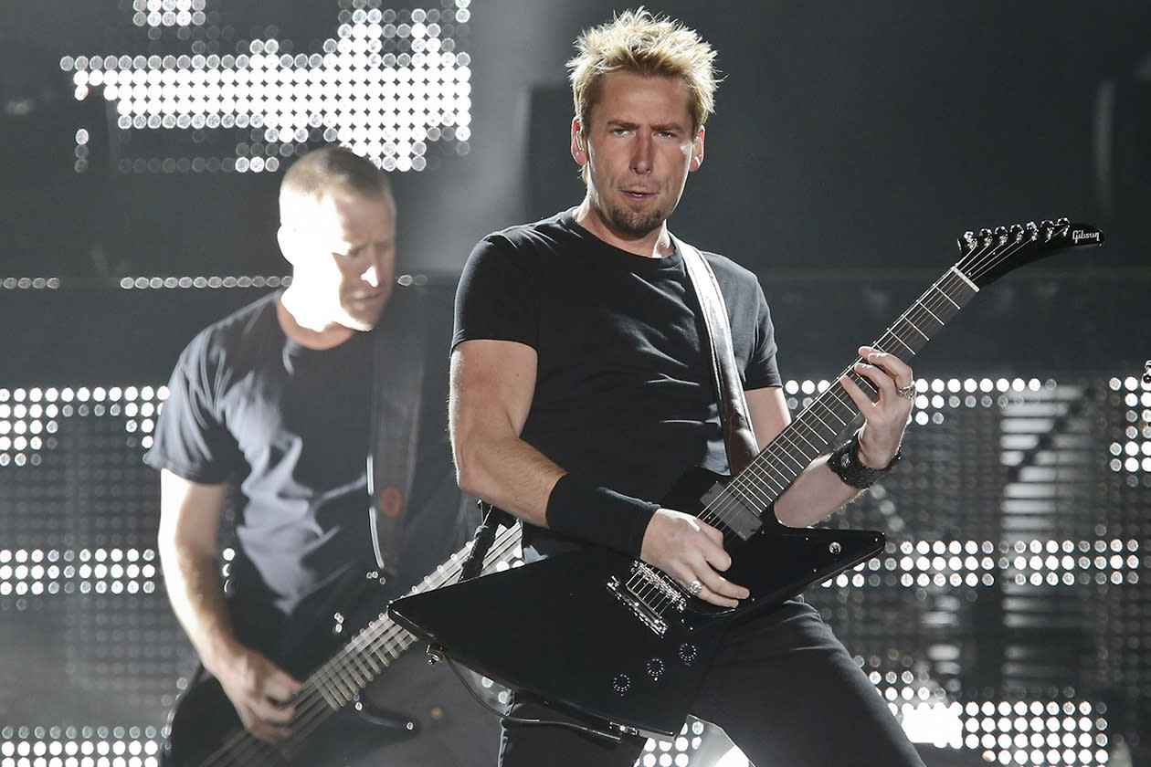 <b>17. Nickelback - $11,121,419.71</b><br><br>The singer of the Canadian band Nickelback, Chad Kroeger in Cologne, Germany.