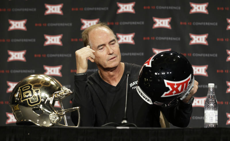 Baylor has different take defending Big 12 title