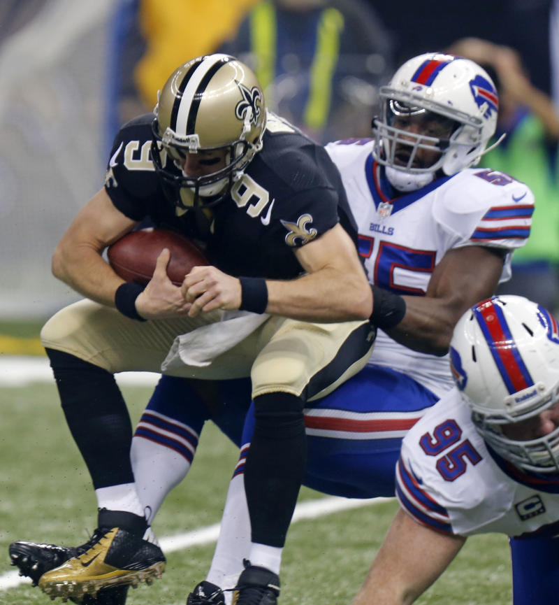 Saints line working to clean up troubling trends