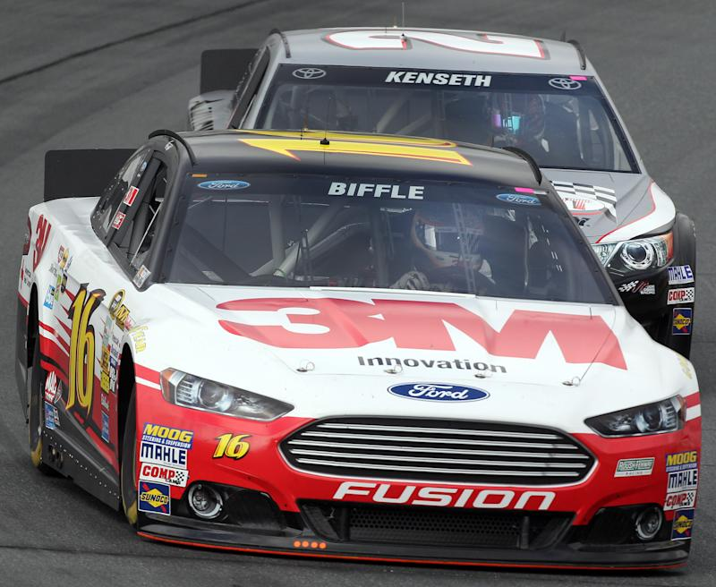 Biffle refuses to count himself out as contender