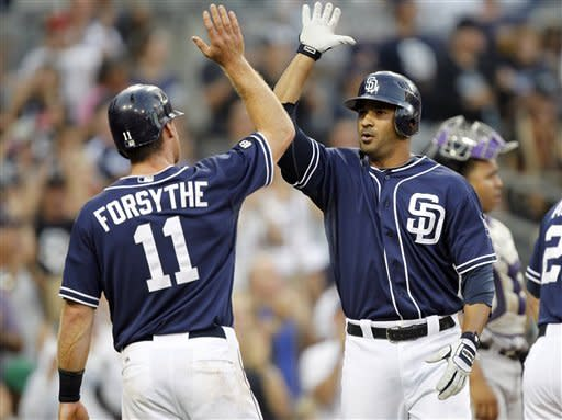 Kelly, Guzman lead Padres to 4-3 win over Rockies
