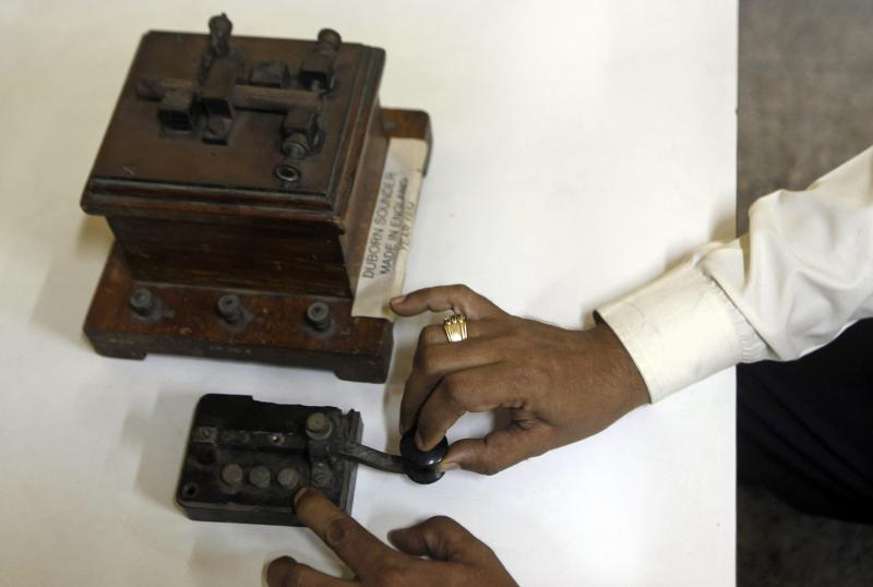 India's telegram service goes dark after 163 years