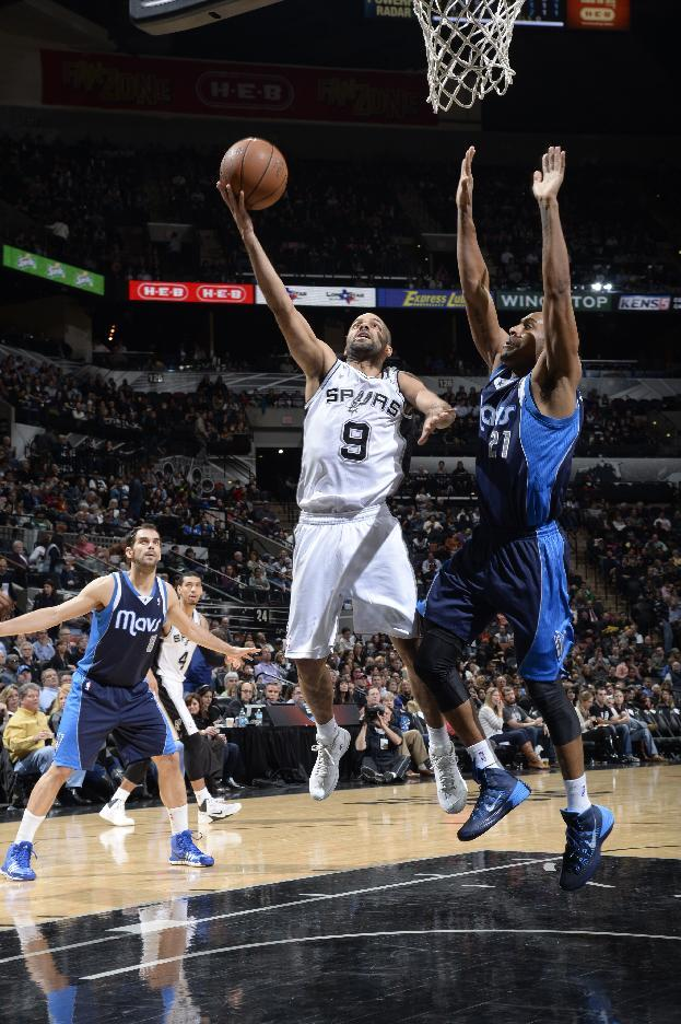 Parker has 25 in Spurs 112-90 win over Mavericks