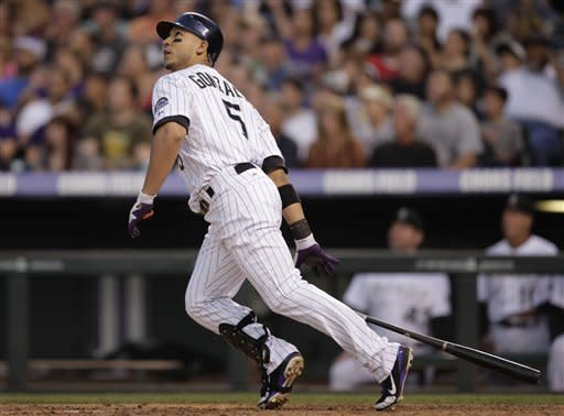 Gonzalez homers again as Rockies beat Astros 11-5