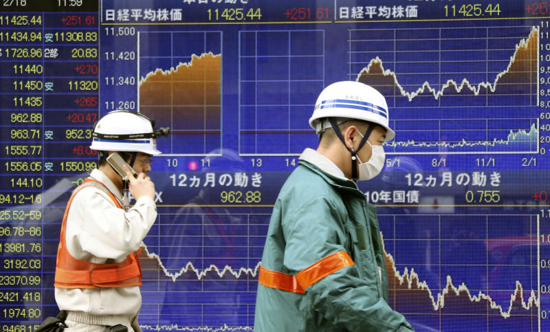 Key Europe indexes rise on heels of Japan's Nikkei