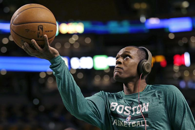 Rondo back in lineup for Celtics