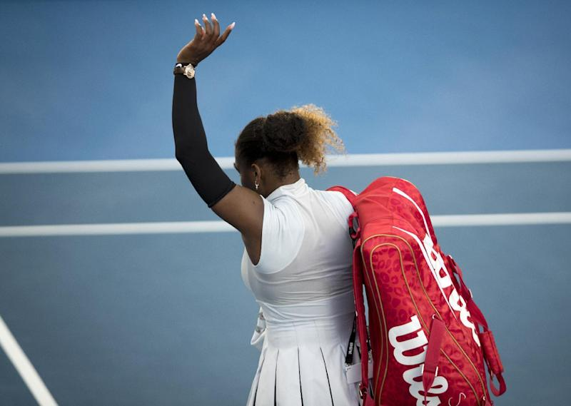 Serena Enjoys Winning Return in First Match Since US Open