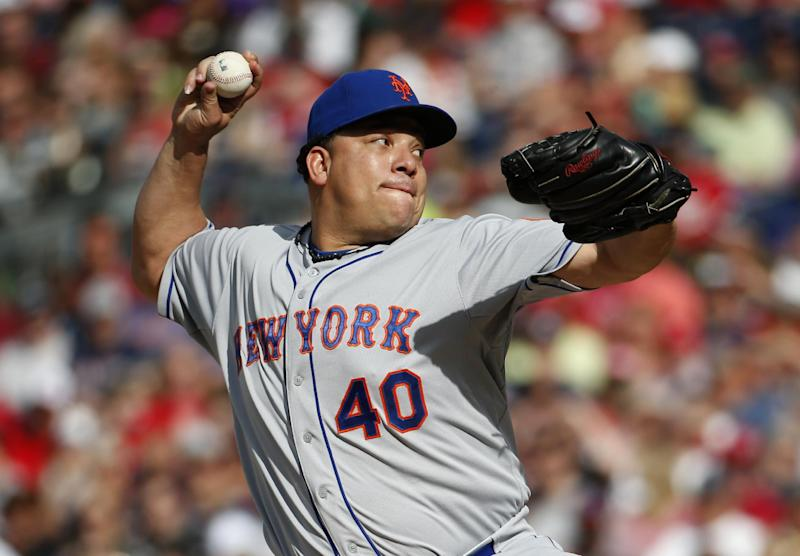 Lagares drives in 3, Mets defeat Nationals 5-2