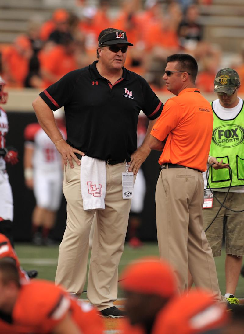 Lamar routed by No. 12 Oklahoma St 59-3