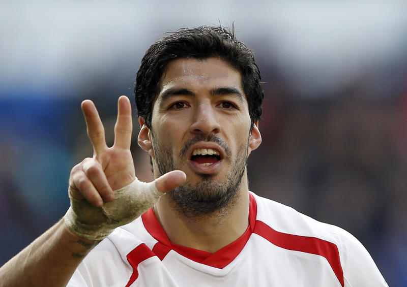 Uruguayan striker Luis Suarez scored 31 goals for Liverpool last season, including a hat-trick against Cardiff City on March 22, 2014