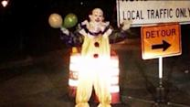 Creepy clown is terrifying Staten Island residents