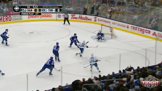 Vancouver Canucks at Toronto Maple Leafs - 02/08/2014