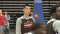 Rockets star Jeremy Lin happy to be back in Asia
