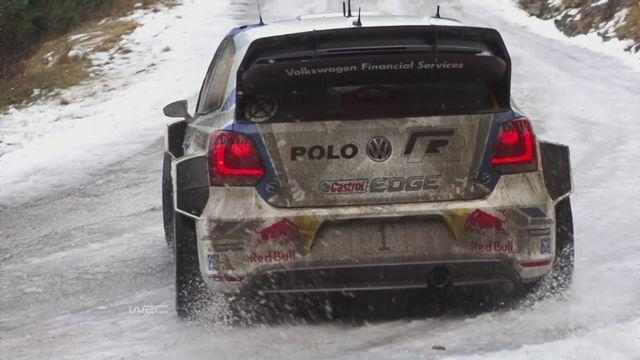 Ogier takes the lead in in Monte Carlo