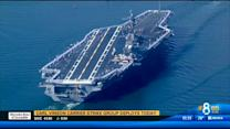Carl Vinson carrier strike group deploys
