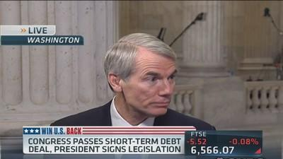 Sen. Portman: 'We don't need to raise taxes'
