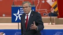"""""""We can't disengage with the world and expect a good result"""" - Jeb Bush"""