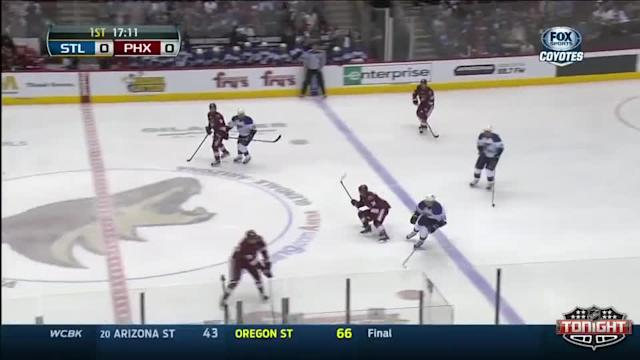St. Louis Blues at Phoenix Coyotes - 03/02/2014