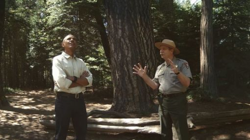 You can visit Yosemite National Park with Obama … in VR