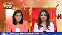 Strategic border road neglected?