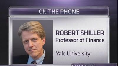Shiller: Stocks are in a bubble