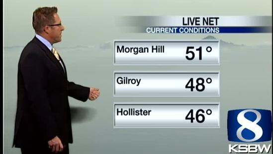 Get Your Wednesday KSBW Weather Forecast 5.15.13