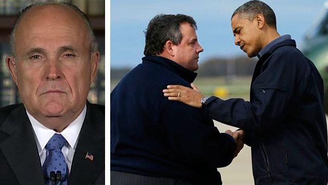 Does Obama deserve praise for handling of Sandy?