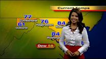 Meteorologist Chelsea Ingram Gives You Your Monday Afternoon Forecast