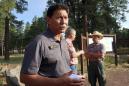 Arizona city watches, worries as mountain area burns