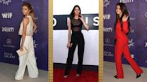 Selena Gomez, Emma Stone & Sarah Hyland Show Us How to Wear Fall's Newest Trends in Pants